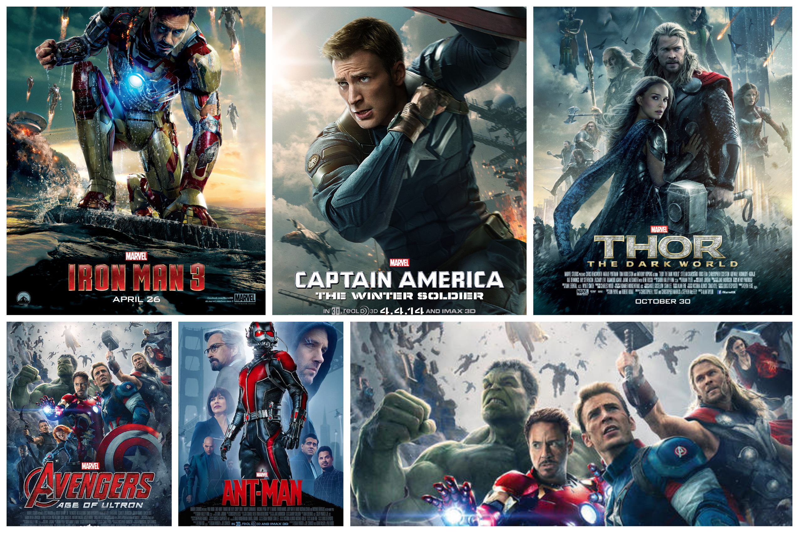 MCU's Phase Two